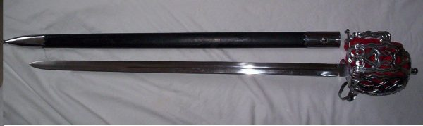 Scottish Highland Basket Sword