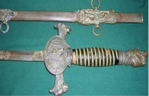 CivilWar Knights of Pythias Sword