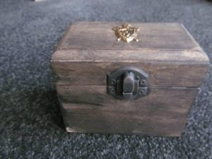 Medieval Wooden Trinket Box