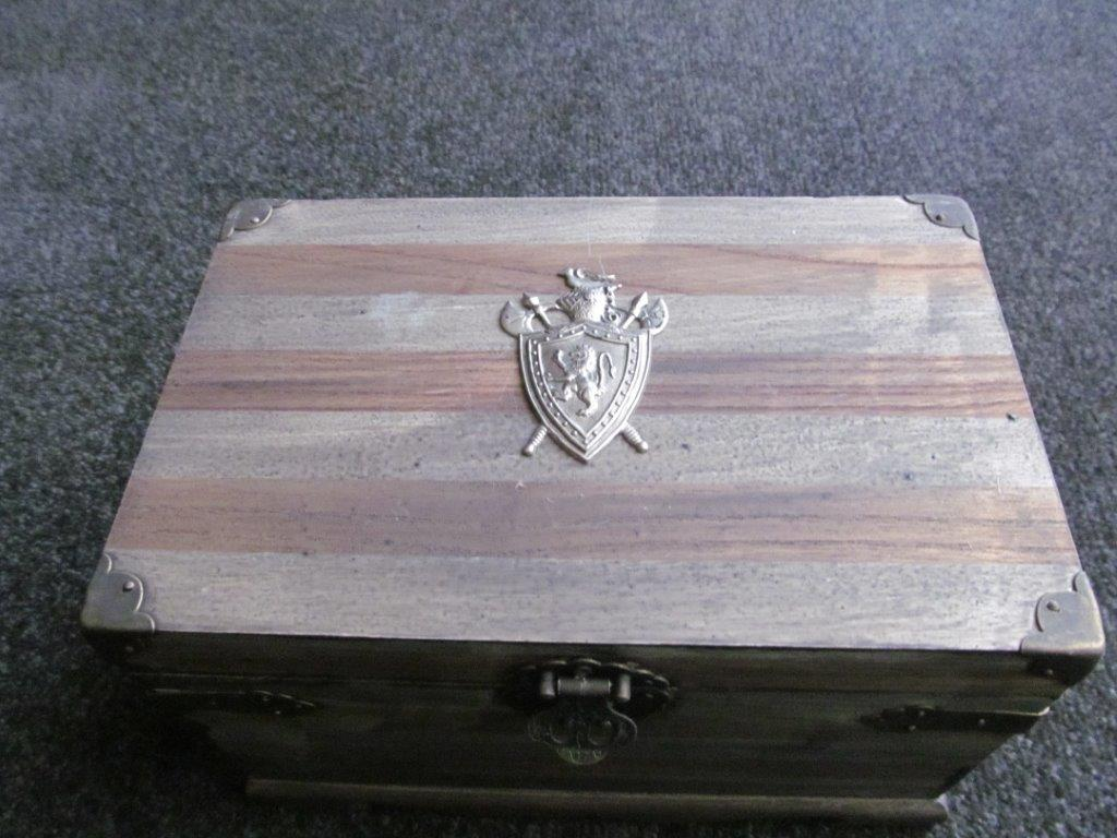 Medieval Wooden Jewellery Storage Box Buy Swords And Armour