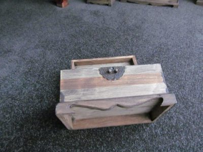 Medieval Wooden Jewellery Box