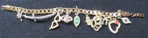 Miss Blings 10 Charm Bracelet