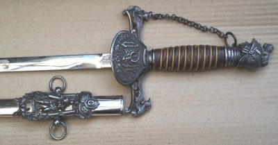 Early Knights of Pythias Fraternal Sword FCB