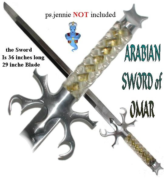 Arabian Nights Sword of Omar
