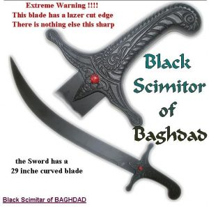 Black Scimitar of Bagdad