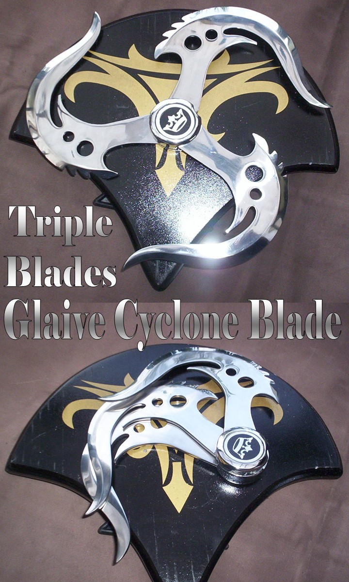 Used Dvds For Sale >> Triple Blade Glaive FX CYCLONE